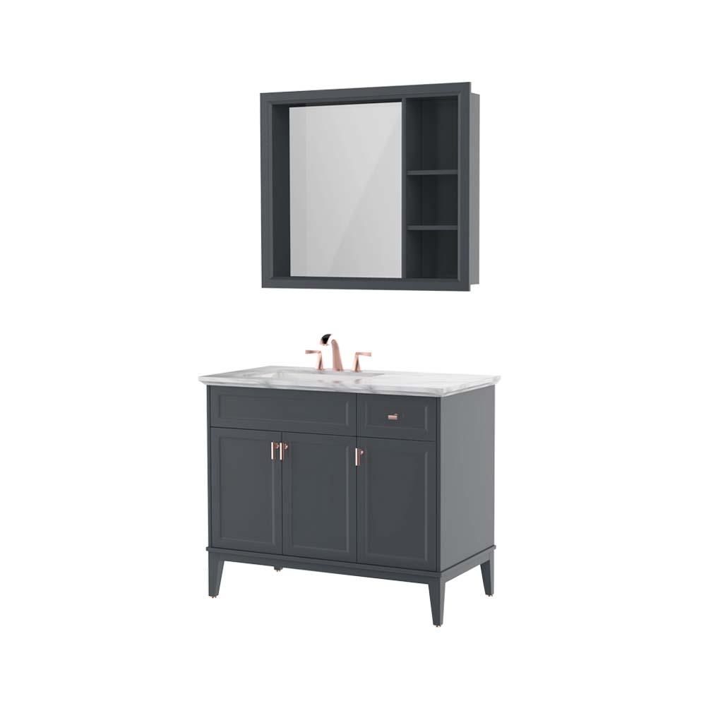 HBT101001N-100实木浴室柜