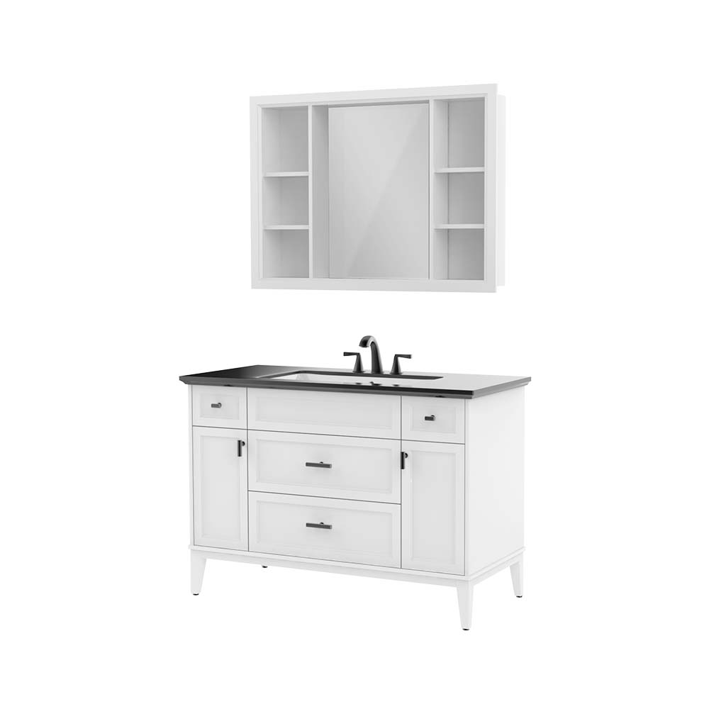 HBT101003N-120实木浴室柜