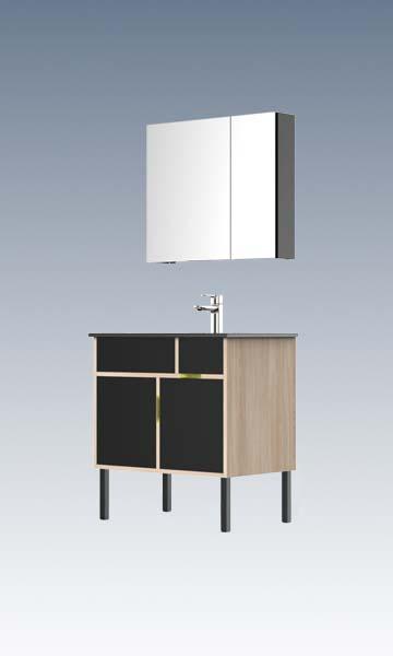 HBM103503N-080生态实木浴室柜