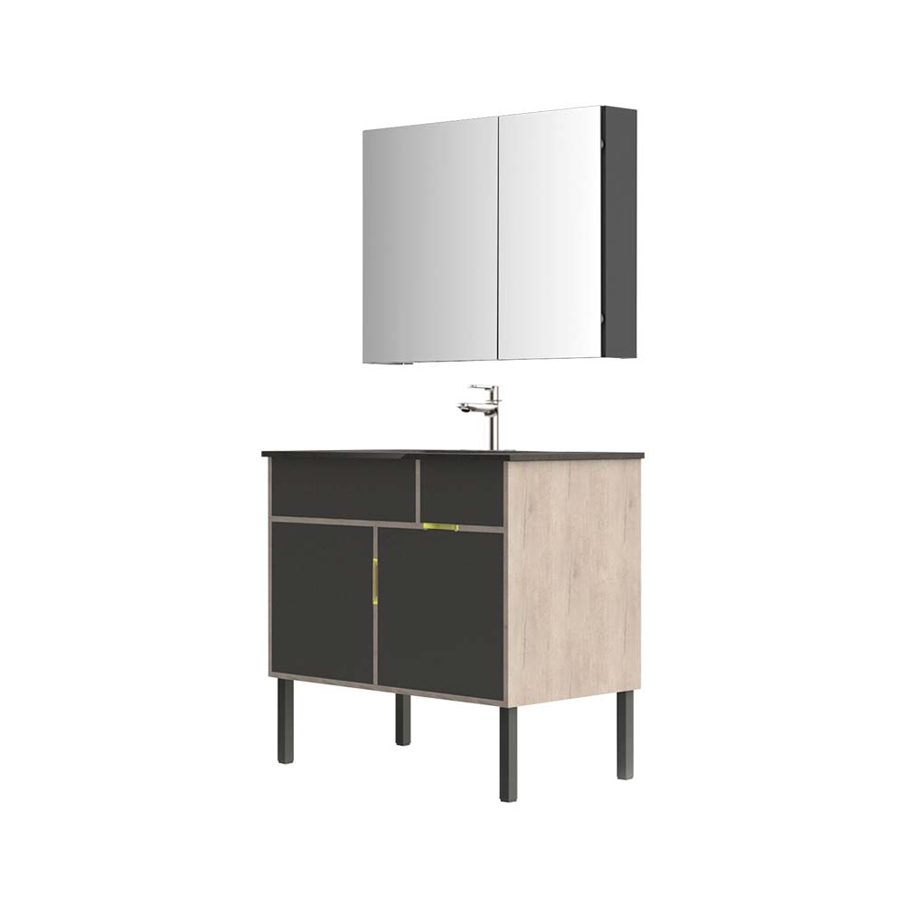 HBM103503N-090生态实木浴室柜
