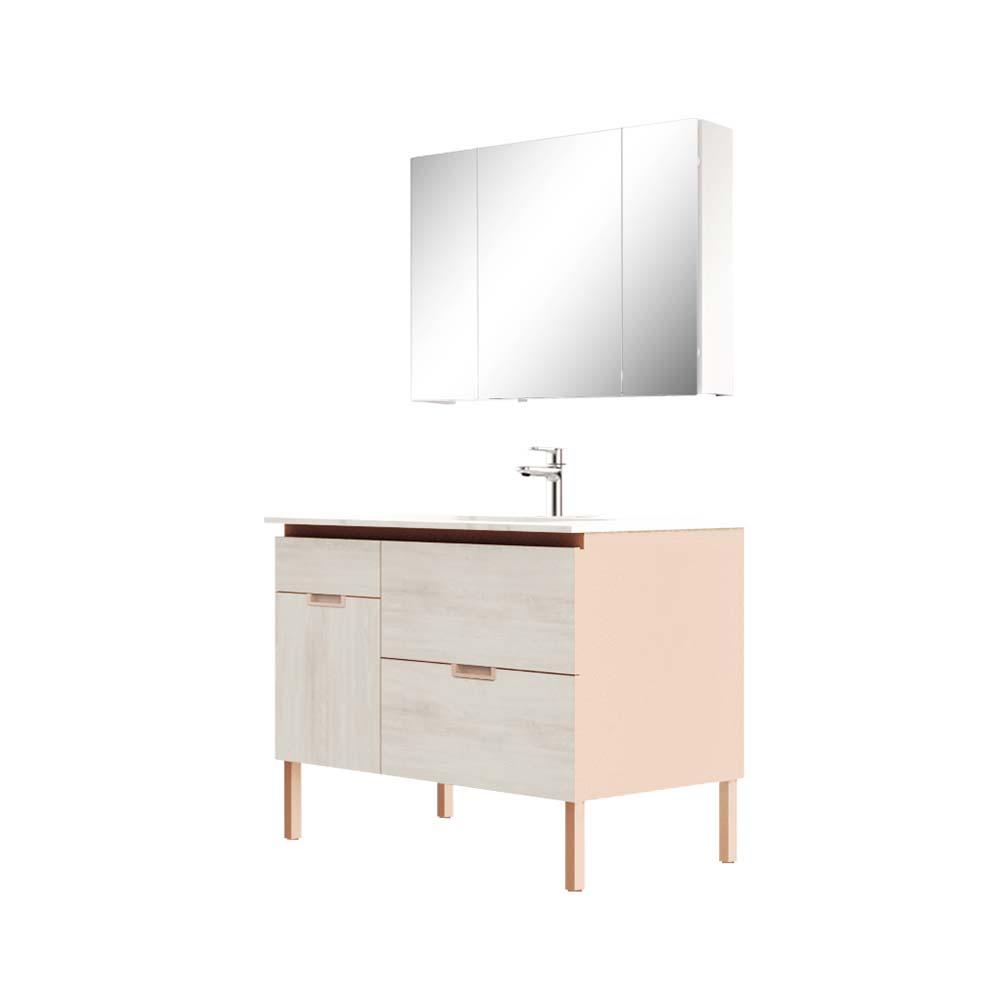 HBM103506N-110生态实木浴室柜
