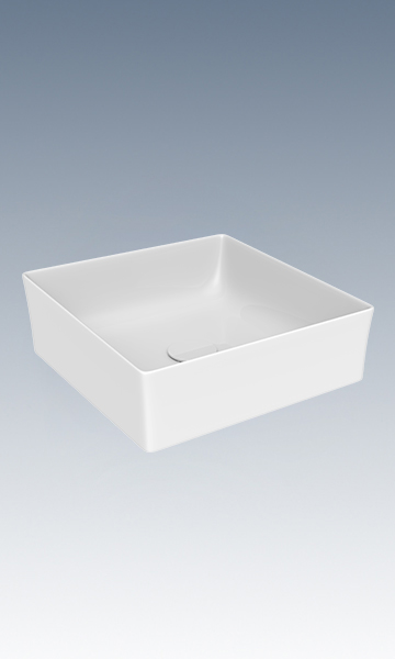 HC10640-038方形薄边艺术盆