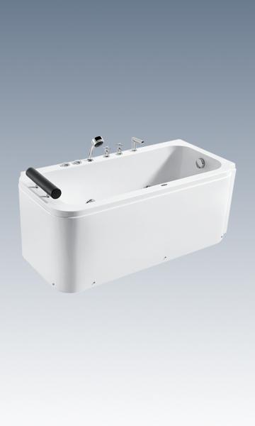 恒洁HLB623CL/RS3-170裙边式左/右型冲浪缸